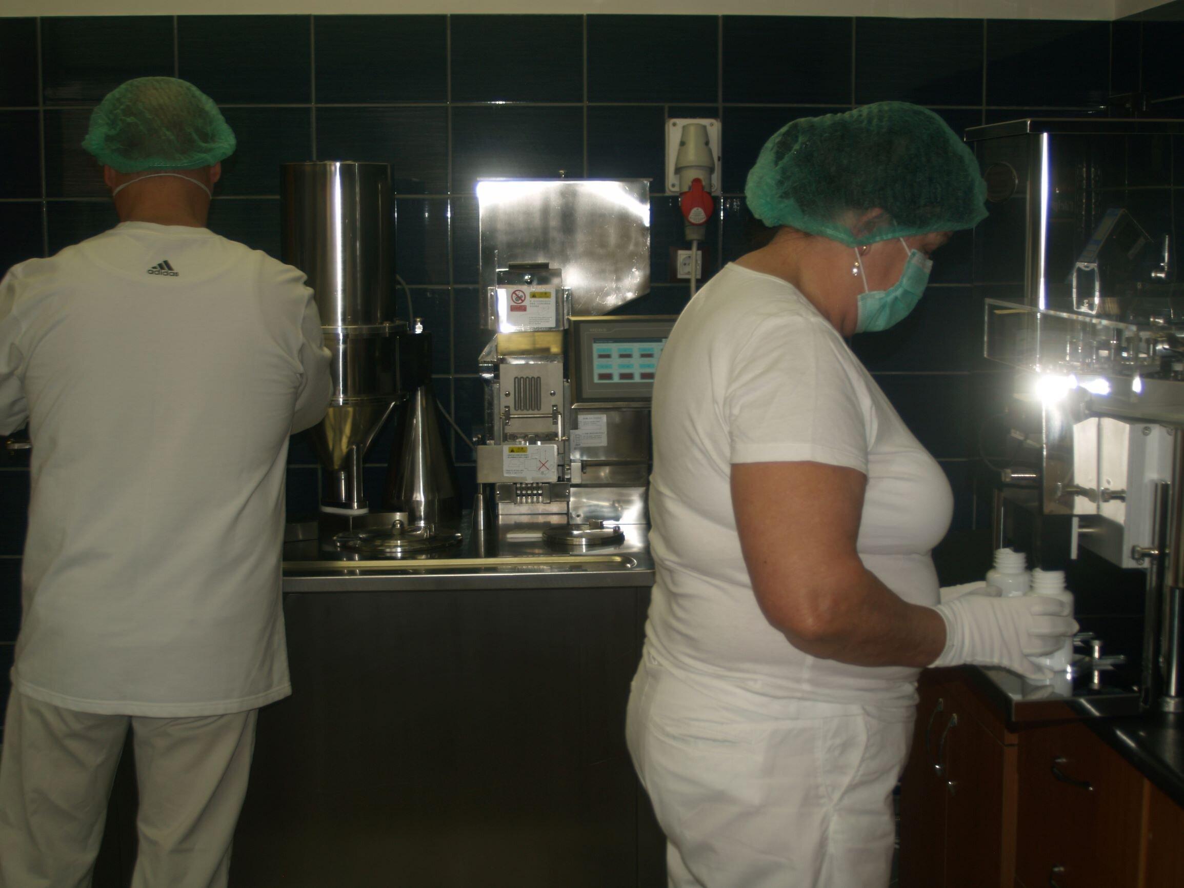 Ganoderma kapszula címkézése